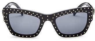Versace Men's Square Sunglasses, 52mm