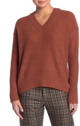 360 Cashmere Eliza V-Neck Cashmere High/Low Sweater
