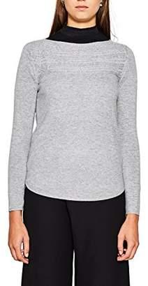 Esprit Women's 107eo1i010 Jumper (Medium Grey 5 039), X-Large
