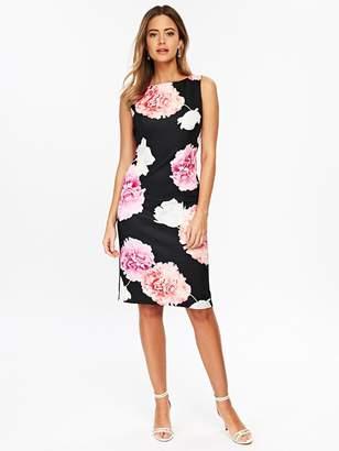 Wallis Petite Blossom Scuba Shift Dress