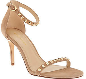 Marc Fisher Suede Ankle Strap Pumps w/ Stud Detail - Banner $59.96 thestylecure.com