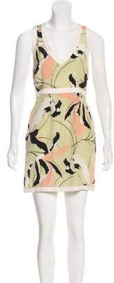 Miu Miu Sleeveless Silk Dress