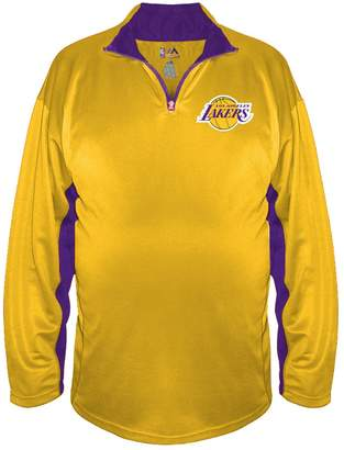 Majestic Big & Tall Los Angeles Lakers Pullover