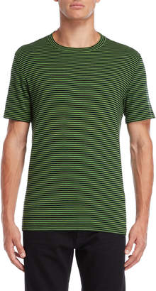 Maison Margiela Green & Black Stripe Tee