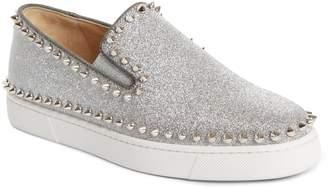 Christian Louboutin Spike Slip-On Sneaker