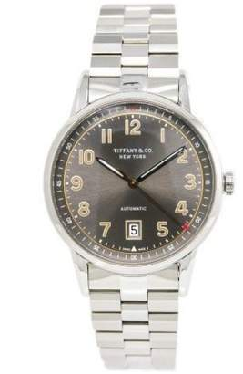 Tiffany & Co. 34668272 Stainless Steel Automatic Grey Dial 42mm Mens Watch