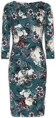 Erdem Floral stretch midi dress