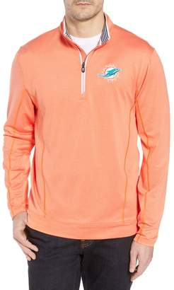 Cutter & Buck Endurance Miami Dolphins Regular Fit Pullover