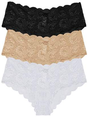 Cosabella Never Say Never Hottie Lace Lowrider Hotpants Basic Pack