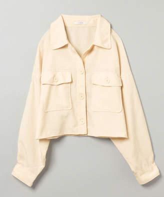 JEANASiS (ジーナシス) - リネンライクBIGシャツジャケット