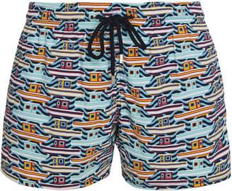 Vilebrequin Mykonos Printed Swim Shorts