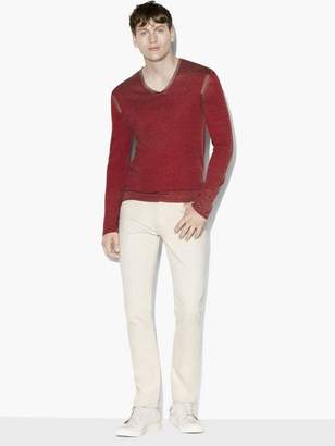 John Varvatos Artisan V-Neck Sweater