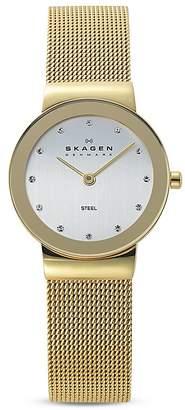 Skagen Freja Mesh Bracelet Watch, 22mm