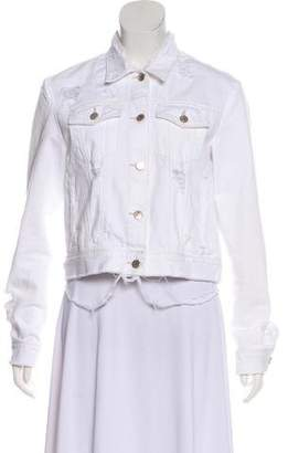 J Brand Denim Long Sleeve Jacket