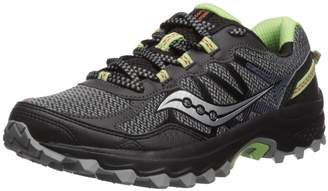 Saucony Excursion TR11 Running Shoes, Black/Lime, 6.5 M M US Adult