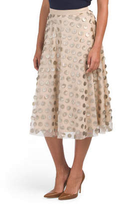 Made In Usa Paillette Skirt