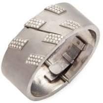 Silver & Champagne Diamond Bracelet