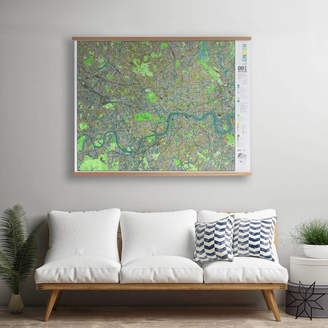 The Future Mapping Company London Wall Map