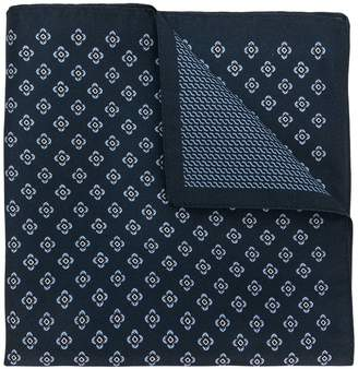 Ermenegildo Zegna patterned pocket square