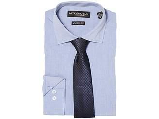 Nick Graham Chambray Shirt with Tie