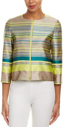 Lafayette 148 New York Tilda Silk-Blend Jacket