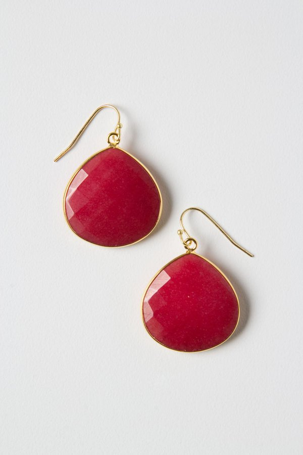 Anthropologie Polished Planes Earrings