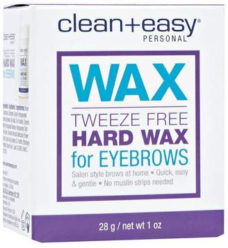 Clean + Easy Tweeze Free Eyebrow Hard Wax