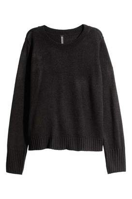 H&M Knit Sweater - Black - Women