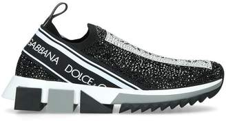 Dolce & Gabbana Sorrento Crystal Sneakers