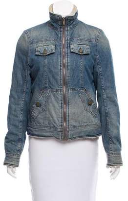 Marc by Marc Jacobs Shearling Denim Jacket