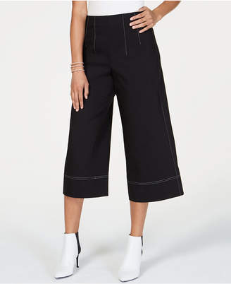 INC International Concepts I.n.c. Cropped Wide-Leg Pants