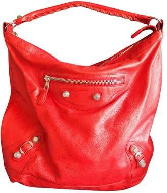 Balenciaga Day leather handbag