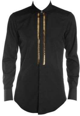 DSQUARED2 Sequin Button-Down Shirt