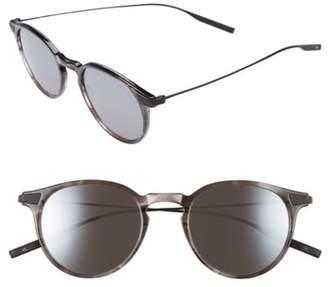 Salt Rick 48mm Polarized Round Sunglasses