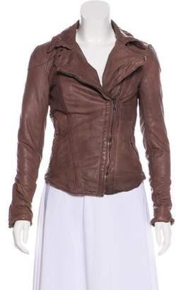 Muu Baa Muubaa Leather Moto Jacket w/ Tags