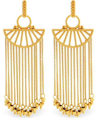 Rachel Zoe Harp Fringe Earrings
