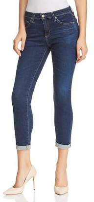 AG Jeans Prima Roll Up Jeans in 2 Years Aromatique Blue