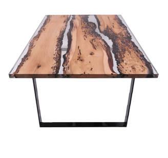 "Dipinto Di Blu Oak Wood Dining Table ""La Dominate"""