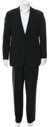 Giorgio Armani Pinstripe One-Button Wool Suit
