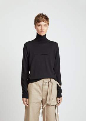 MM6 MAISON MARGIELA Lightweight Wool Turtleneck Sweater
