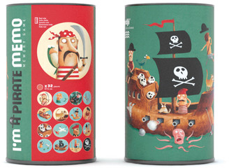 LONDJI Pirate Memory Game Multicoloured $21.60 thestylecure.com