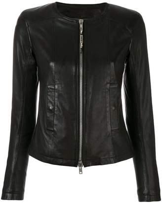 S.W.O.R.D 6.6.44 round neck zip jacket
