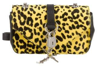 Saint Laurent Ponyhair Leopard Crossbody Bag