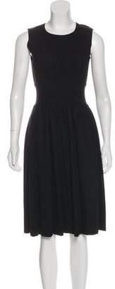 Prada Wool Midi Dress