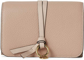 Chloé Nude Small Leather Flap Wallet