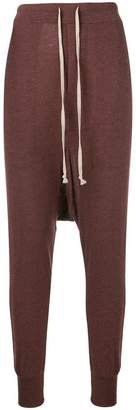 Rick Owens Lilies drop-crotch track pants