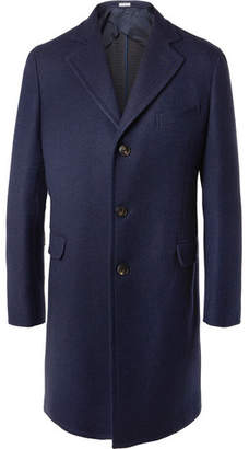 Boglioli Slim-Fit Double-Faced Virgin Wool Coat