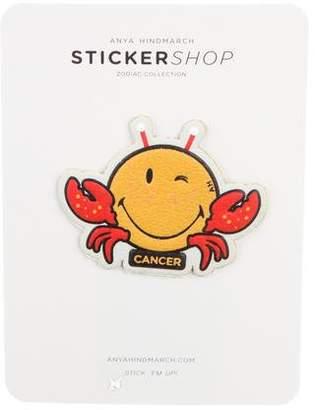 Anya Hindmarch Leather Zodiac Sticker w/ Tags