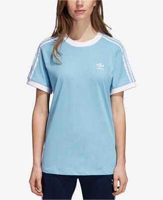 adidas adicolor Cotton Three-Stripes T-Shirt