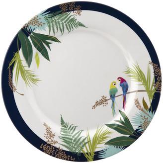 Sara Miller - Parrot Collection Melamine Plate - Set of 4 - Dinner Plate - 28cm